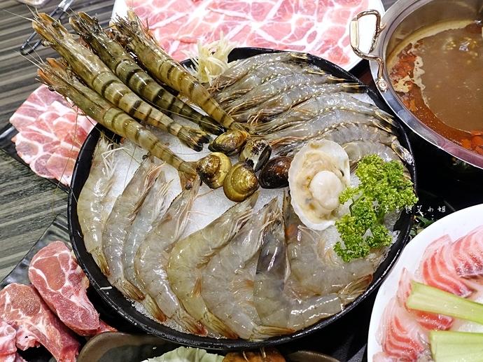 39 丰明殿 信義殿 超大肉盤 涮涮鍋 痛風海鮮盤