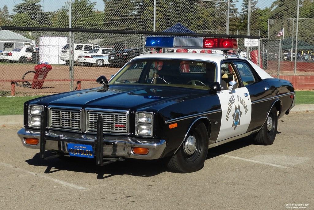 california highway patrol   1977 dodge monaco   restored