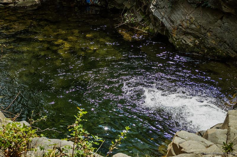 Poza del río Glorieta en Mas de Forès