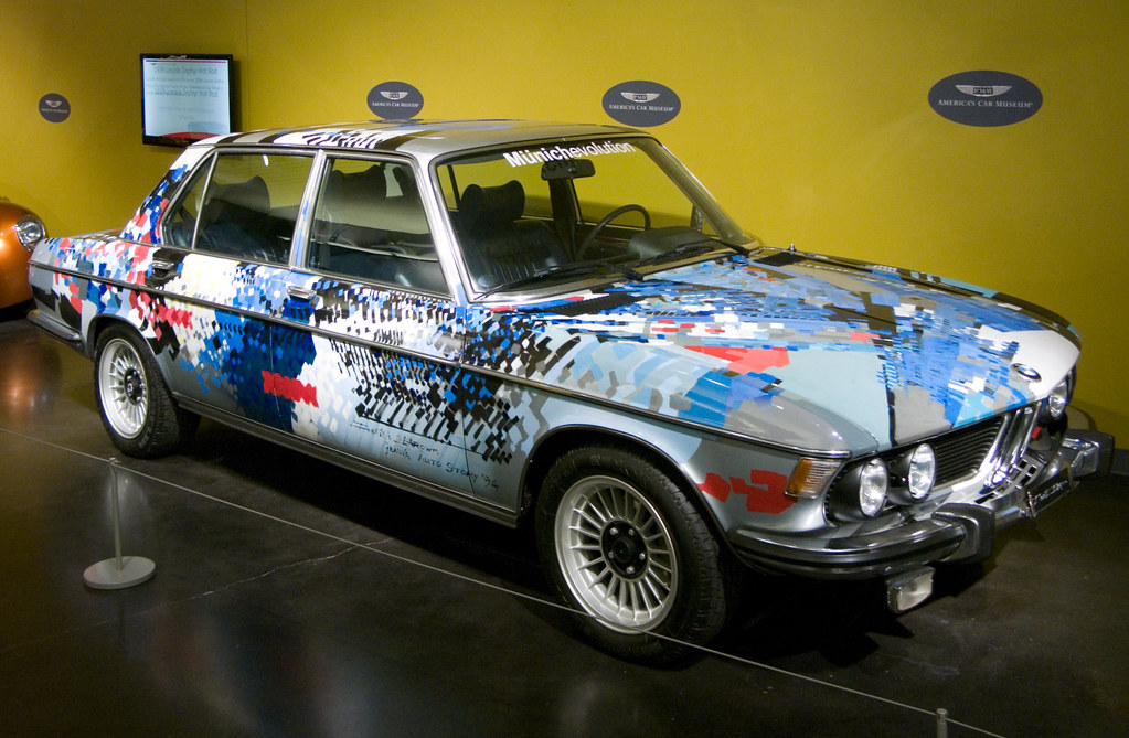 LeMay Car Museum | 1975 BMW 3.3Li The car\'s artwork was done… | Flickr
