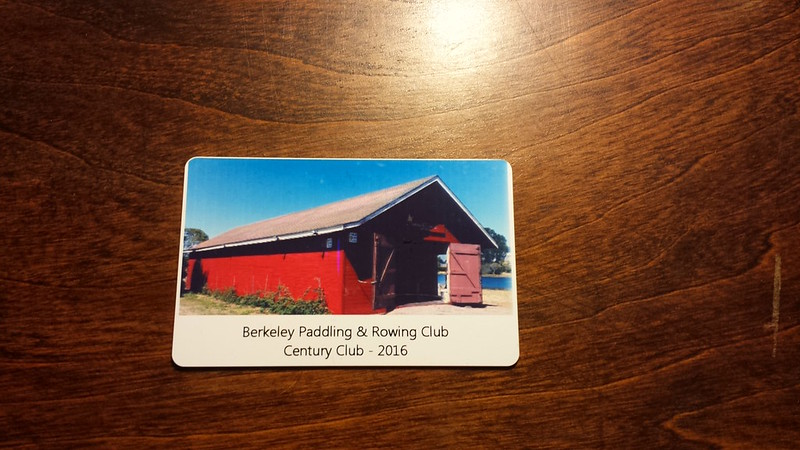 Card-carrying century club member