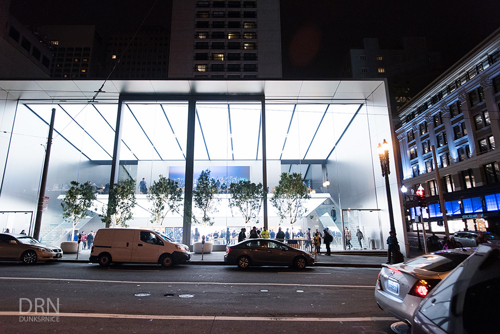 Apple, San Francisco.