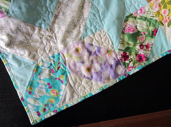 Vignette Garden {a lattice quilt}