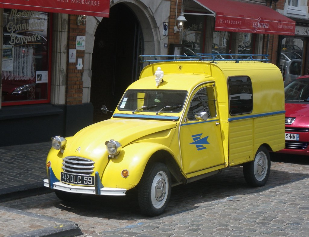 citroen 2cv camionnette la poste cassel 59 sur la plac flickr. Black Bedroom Furniture Sets. Home Design Ideas