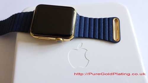 Gold Plated Apple Watch | by PureGoldPlating