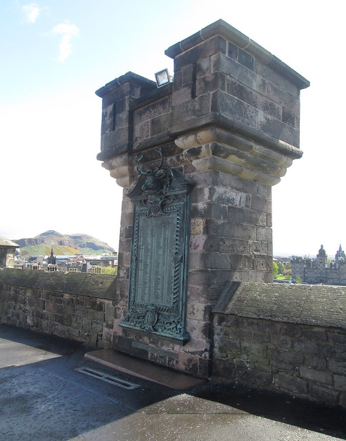 Gordon Highlanders Memorial, Edinburgh Castle Esplanade