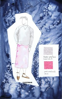 pink skirt copy | by Alice Stribling