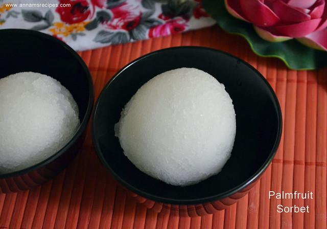 Nungu Sorbet / Ice Apple Sorbet