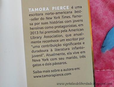 Tamora Pierce, autora de A canção de Alanna