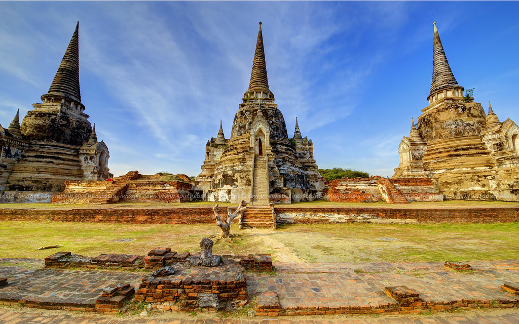 Ayutthaya Historical Park / UNESCO World Heritage Site / C ...