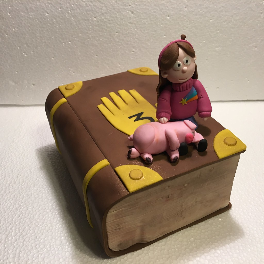 GRAVITY FALLS CAKE TOPPER dorysabad Flickr