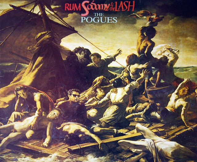"Pogues Rum, Sodomy & The Lash 12"" vinyl LP"