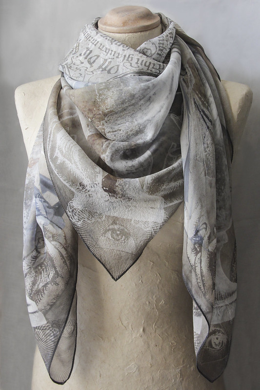 original silk scarf