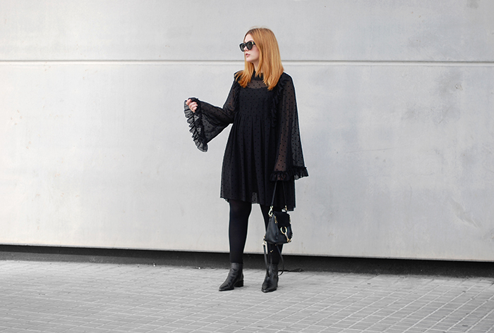 See-By-Chloe-Dress-Bell-Sleeves-3