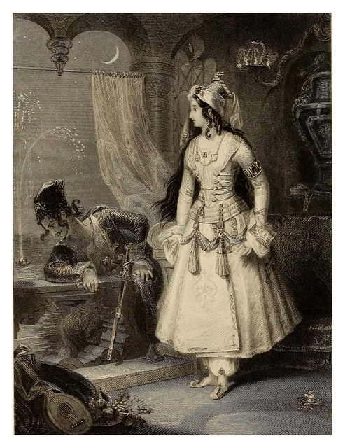 006-Lalla Rookh an oriental romance-1853 -E. H. Corbould