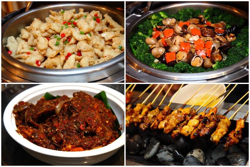 Majestic Hotel Ramadan Buffet Dishes