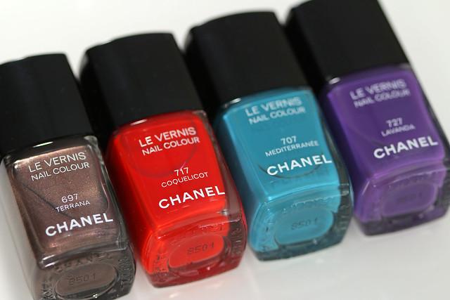 Chanel Summer 2015 Collection Mediterranée terrana coquelicot mediterranee lavanda lacquerstyle kgrdnr