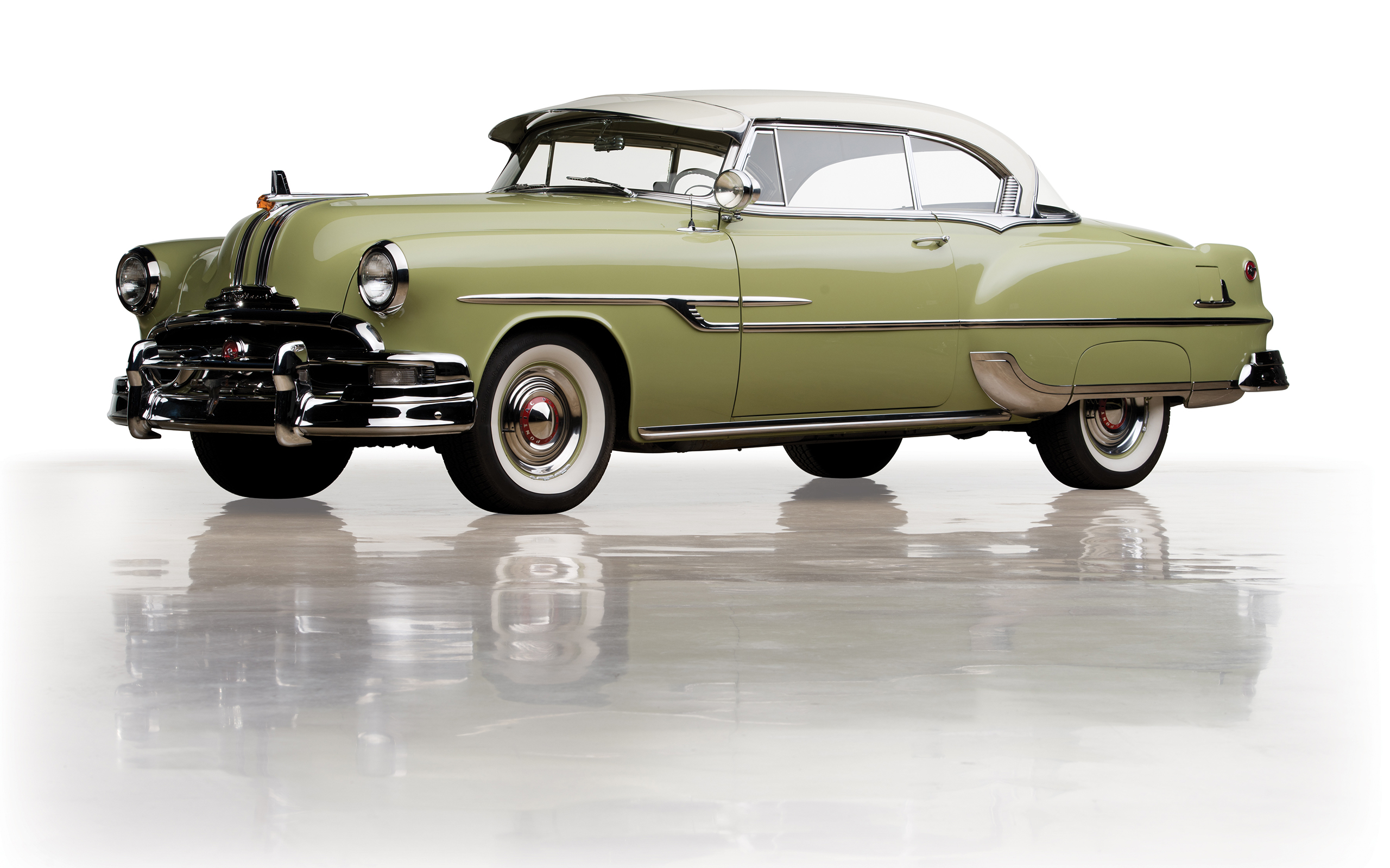 1953 Pontiac Chieftain Deluxe Eight Catalina Coupe Autopik