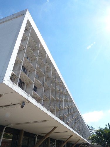 Modernist Building, Ibirapuera Park, São Paulo