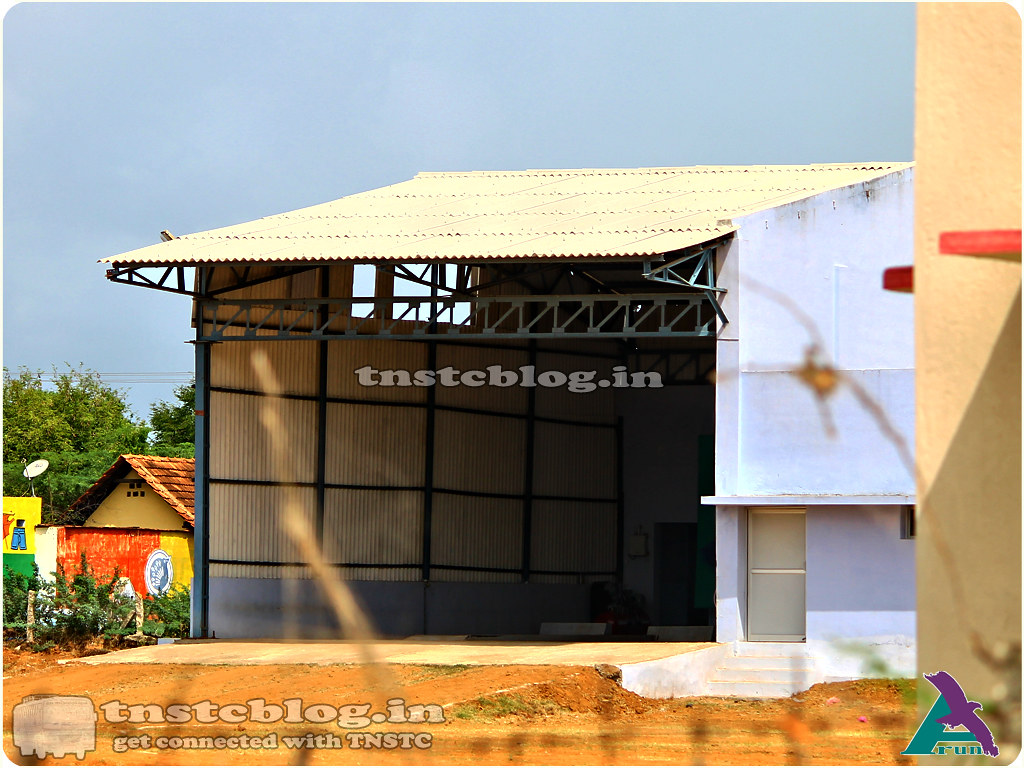 Cheranmahadevi Depot  Maintenance Bay