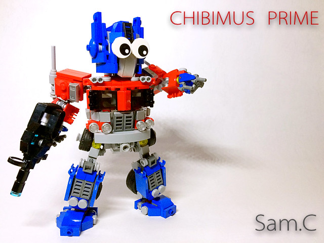 LEGO Transformers: Chibimus Prime- Lego Ideas Cover