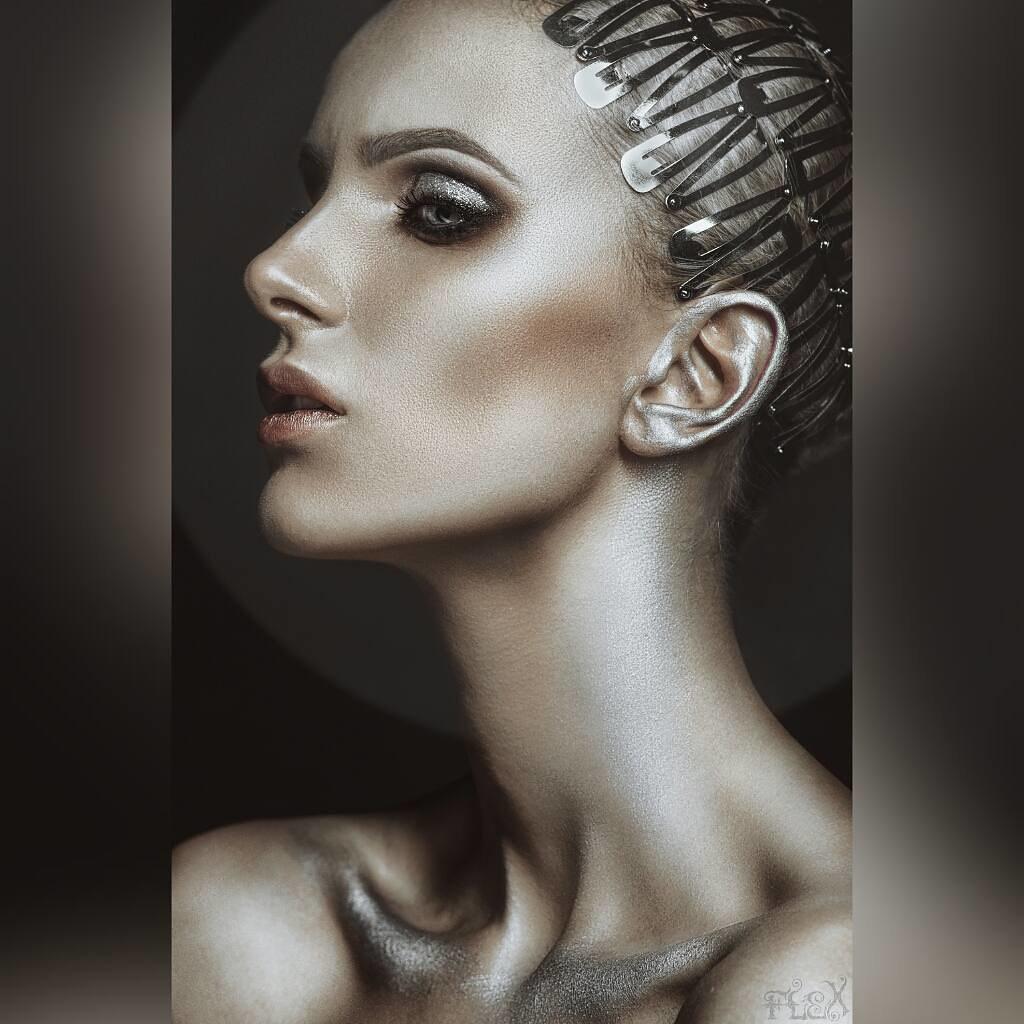 d4ed1a4182 ... Steel Model: @alin_di MUA & Hair: @marinabragar Assistant: @i_bukashka  Retouch