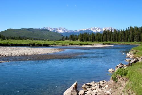 Snake River and Teton Range