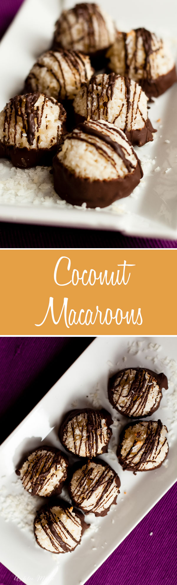 These are my mom's favorite so I make them for her all the time, great creamy coconut flavor and dipped in chocolate, doesnt get much better