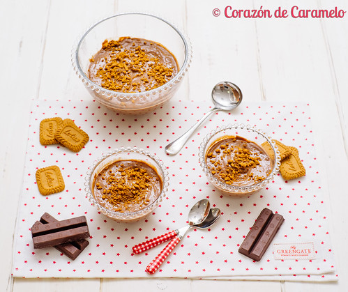 Natillas de chocolate coraz n de caramelo flickr for Corazon de caramelo