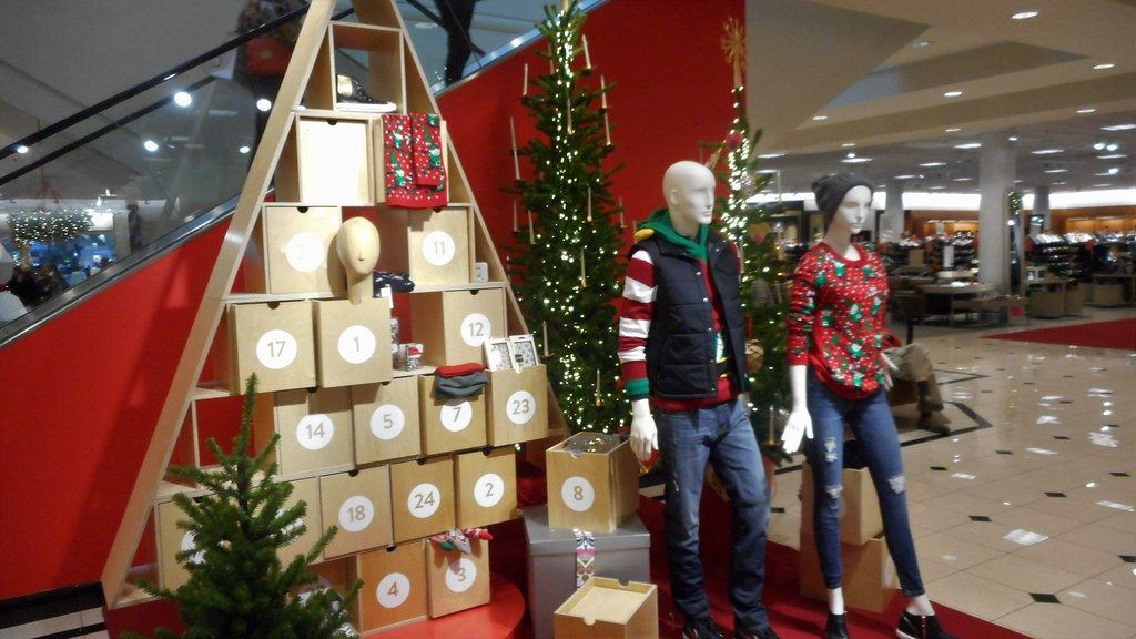 christmas display at aldrwood mall nordstrom store in lynnwood wa by patricksmercy - Nordstrom Christmas
