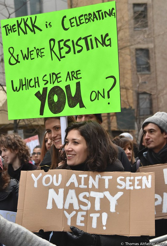 Women's March On NYC (14)