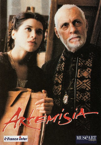 Michel Serrault and Valentina Cervi in Artemisia (1997)