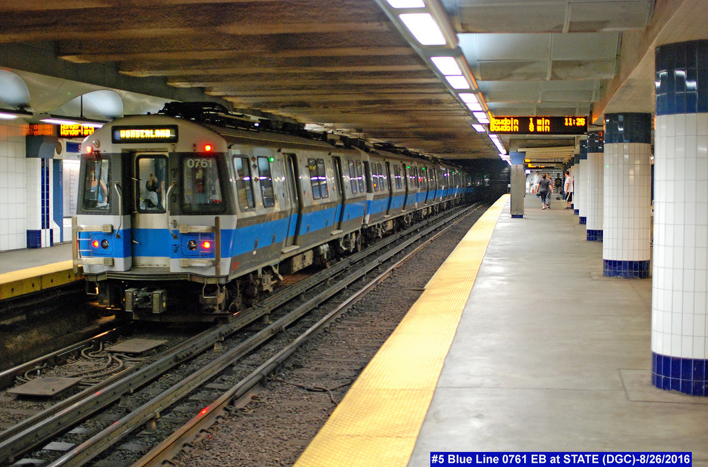 Mbta Blue Line Flickr