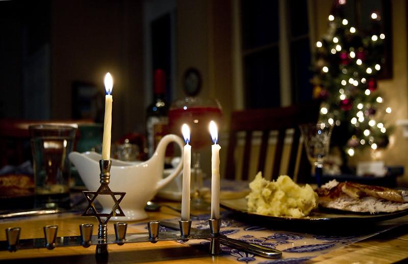 Hanukkah second night 2016