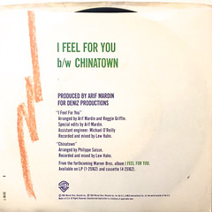 CHAKA KHAN:I FEEL FOR YOU(JACKET B)