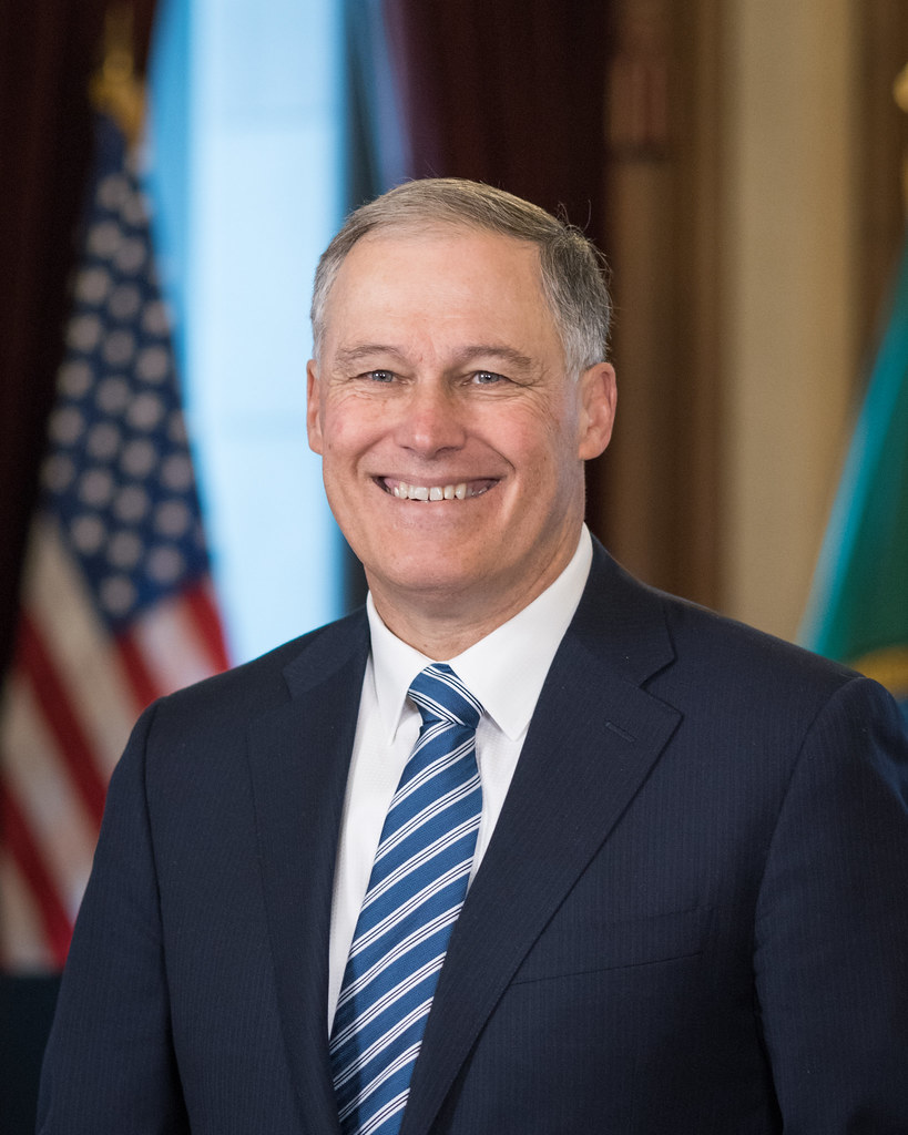 Governor Jay Inslee Gov Jay Inslees Official Portrait