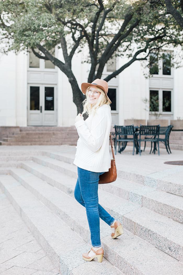 austin style blogger jcrew pom pom sweater clogs9