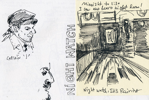 Sketchbook #102: Field Trip - Night Watch
