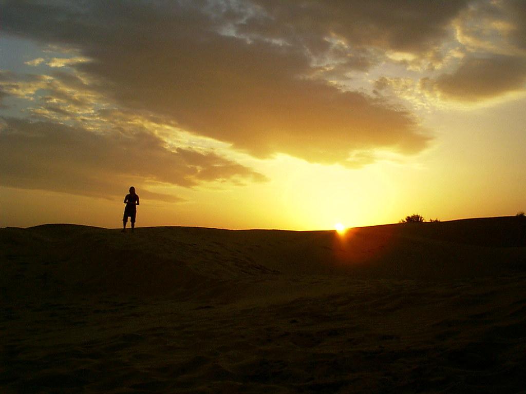 top thar desert sunset - photo #10