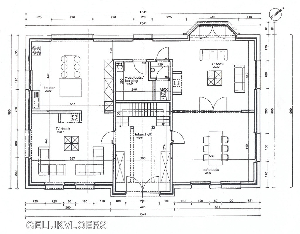 Kitchen Floor Plan Samples