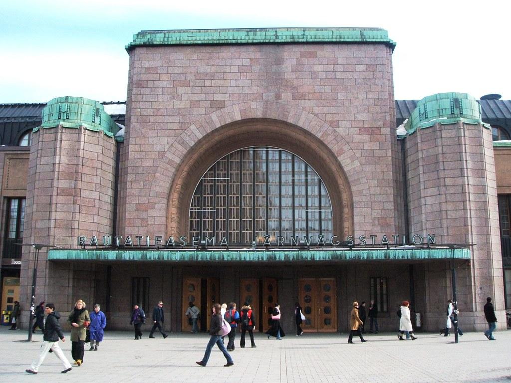 Helsingin Rautatieasema Raiteet