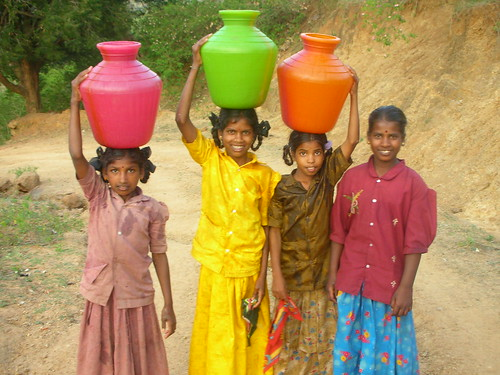 Girls Carrying Water | by Tom Maisey