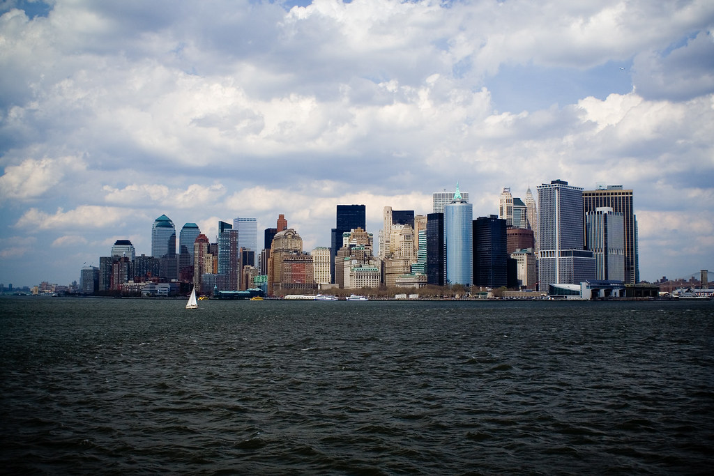 Staten Island Ferry Skyline