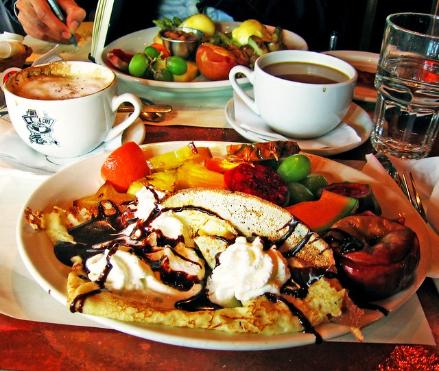 Crepe Cafe Menu Astana