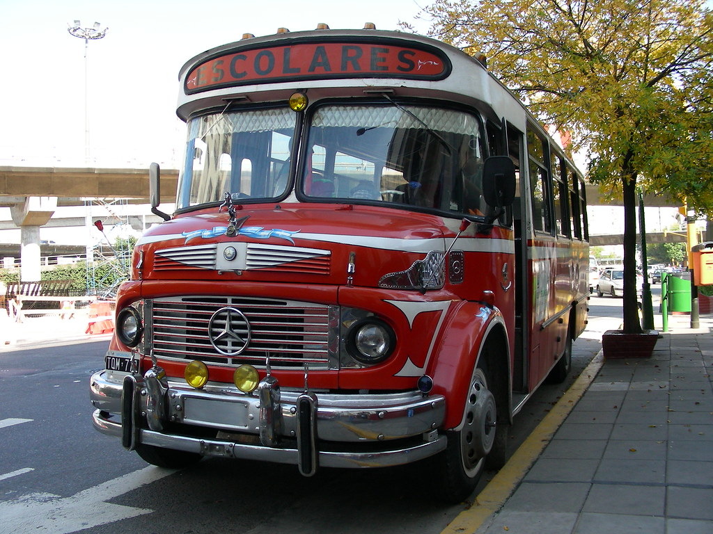 School Buenos School Bus Buenos Aires