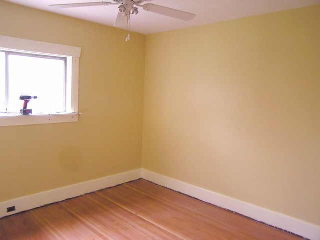 "Baby Room, painted | That yellow? That's called ""Vellum ..."