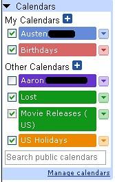 google calendar google calendar austen squarepants flickr. Black Bedroom Furniture Sets. Home Design Ideas