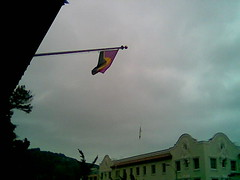 Conlang Flag Flying in Berkeley | by Arthaey