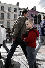 A boy on St. Patrick's Street | by Donncha Ó Caoimh