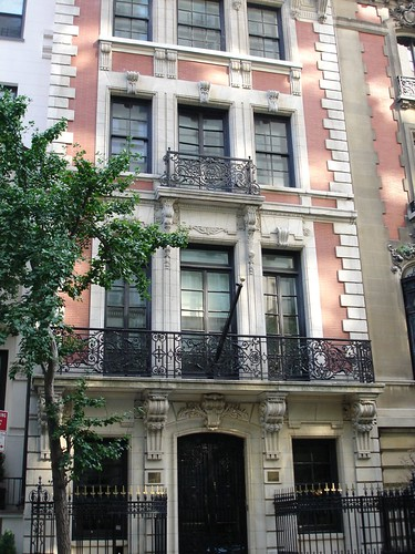 Beautiful upper east side townhouse jason curry flickr for Townhouse architectural styles